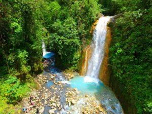 toro waterfalls costa rica